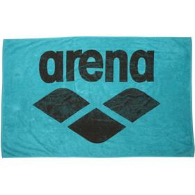 arena Pool Soft Asciugamano, turchese/nero